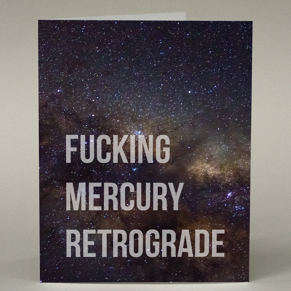 GF-184 Mercury Retrograde